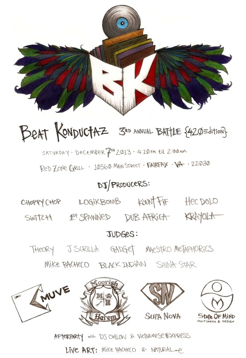 EVENT | Beat Konduktaz | Saturday Dec 7